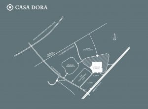 Casa Dora Location Map