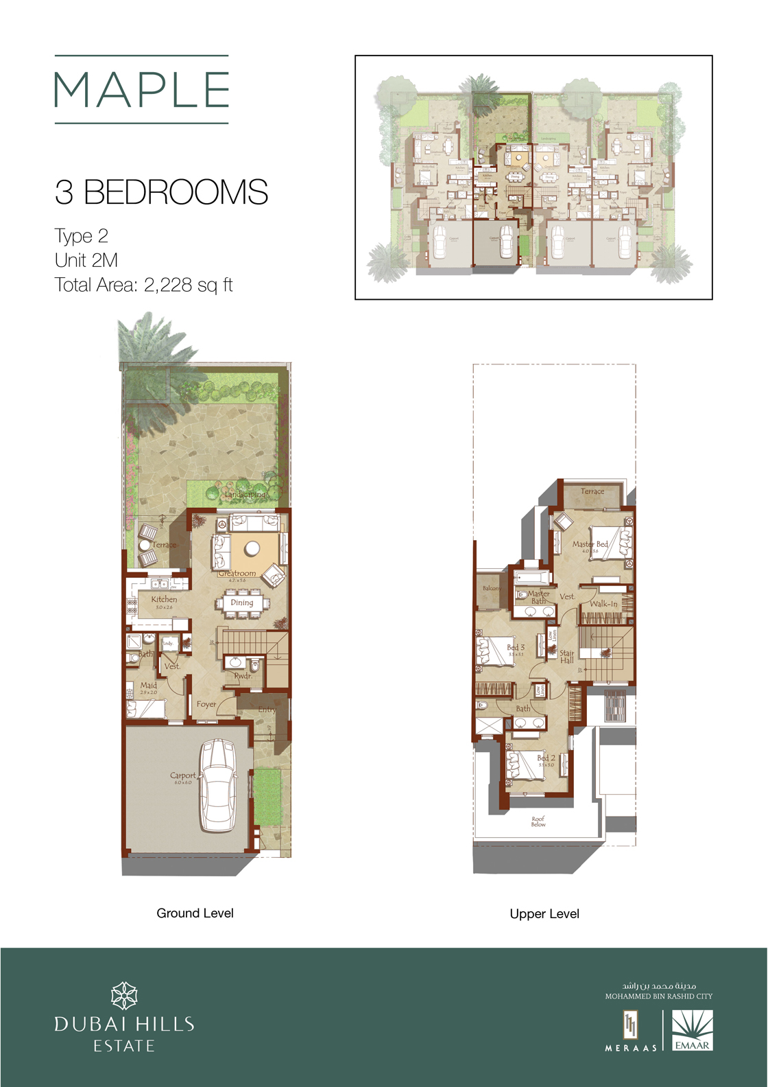 Maple-floorplans-3 bedroom-1120w tcm130-77819