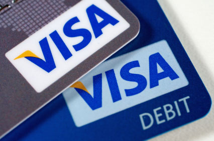 Visa credit and debit card