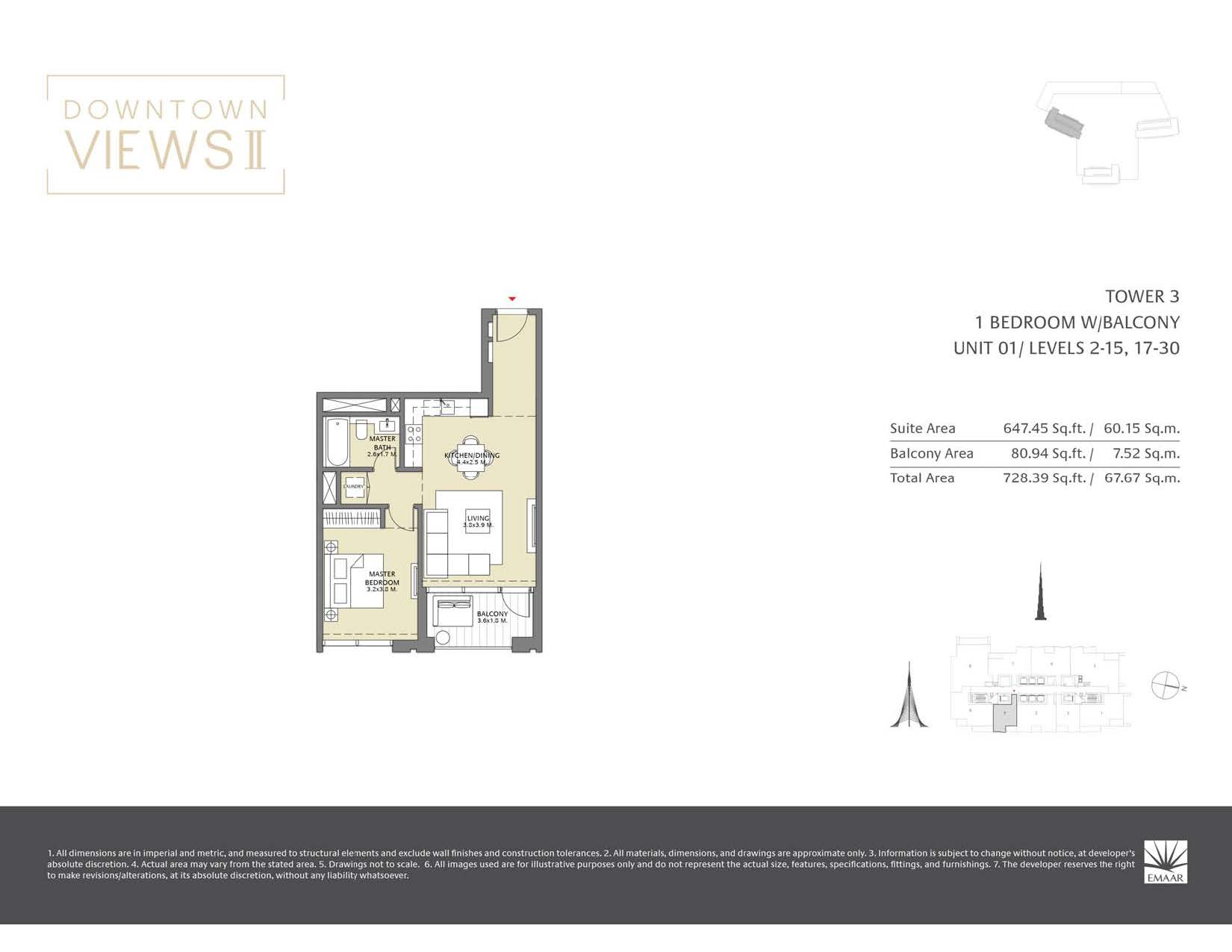 Downtown Views II T3 - Floor Plans Page 02