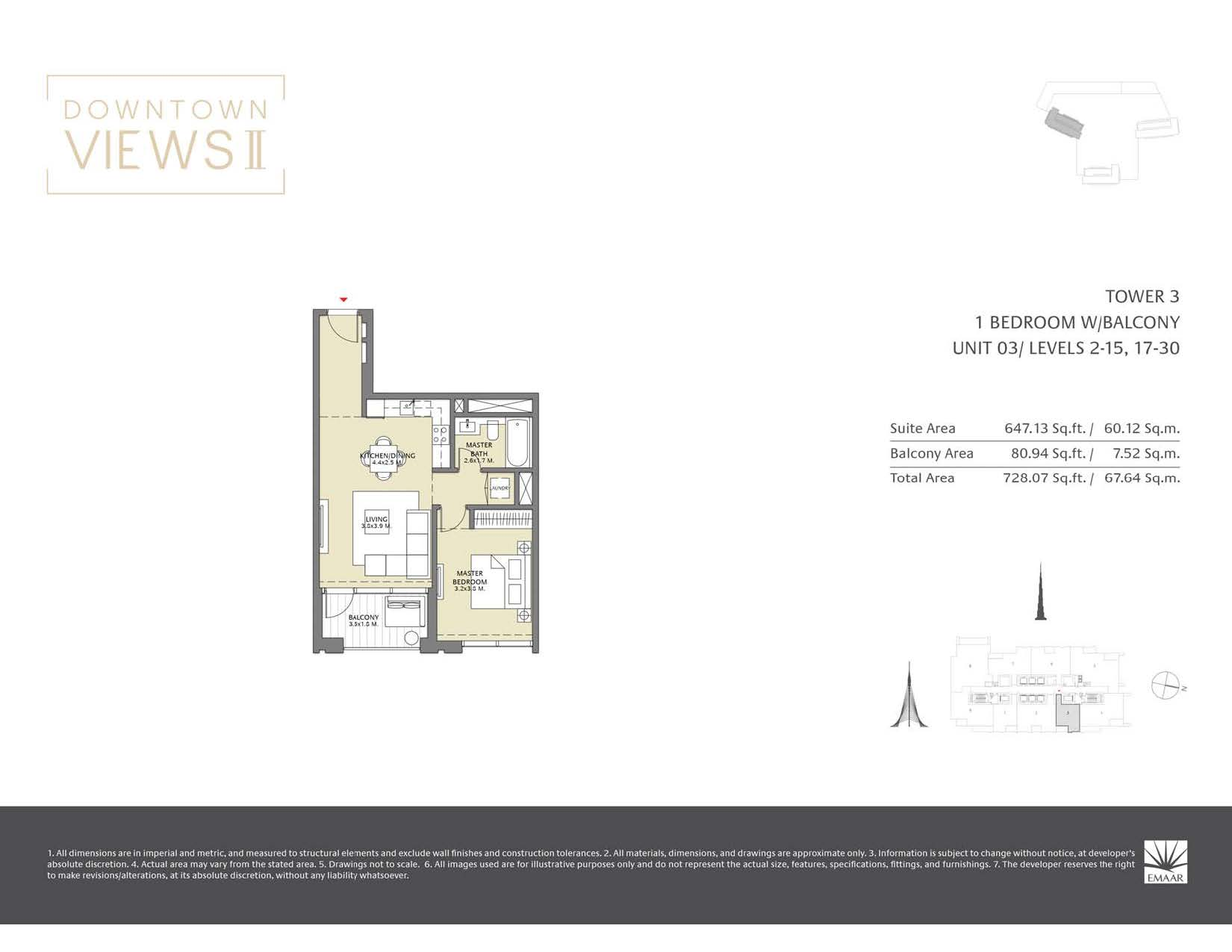 Downtown Views II T3 - Floor Plans Page 04